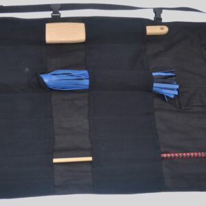 Medium BDSM tool kit bag for floggers, canes etc.