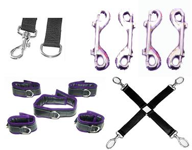 Beginners bondage BDSM set