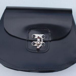 Leather sporan belt pouch