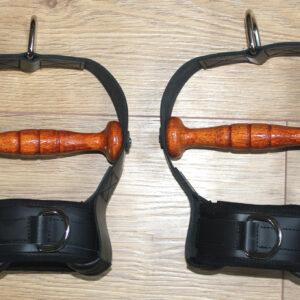 Wrist suspension cuffs – cuffs and strap complete