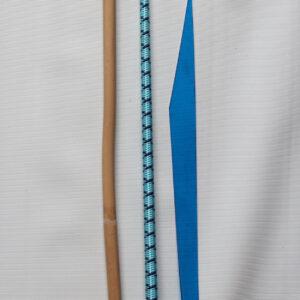 Blue crop BDSM set