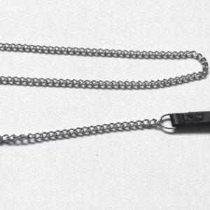 Narrow chain leash