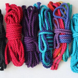 Custom dyed rope