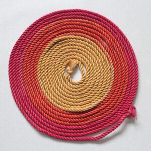 Fire hemp rope