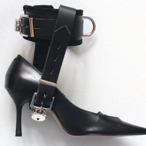 Lockable straps to force you to wear high heels