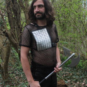 Chainmail shoulder panel