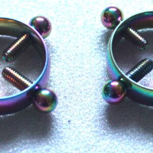 Unicorn adjustable circle nipple clamps