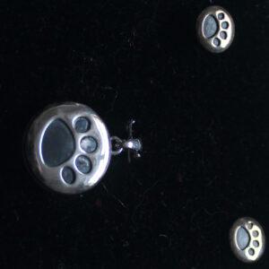 Pet locket and earrings set