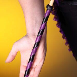 Tohiti punishment cane with braided handle option