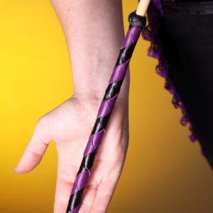 6mm-8mm dragon cane with braided handle