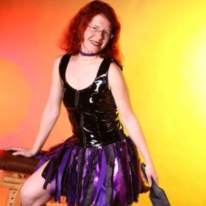Purple fairy skirt