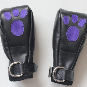Puppy play mittens