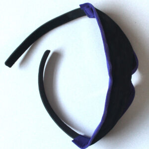 Ultimate padded blindfold with suede edging