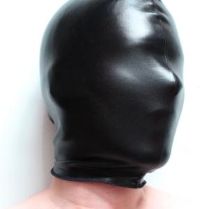 Stretchy PVC hood