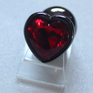 Red heart butt plug, 3 sizes
