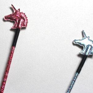 Glitter unicorn crop